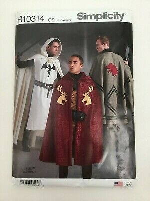 19 Medieval-Renaissance Capes /& Tabards Child /& Adult sz  Period Patterns 92 SCA