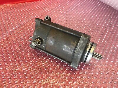Honda VFR800 VFR 800Fi, Starter Motor, Came From A 50th Anniversary, Fits 98-01.