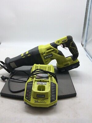 Ryobi Cordless Reciprocating Saw P516 With Battery And Charger