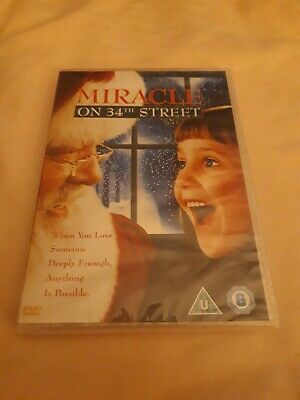 Miracle On 34th Street Brand New Sealed DVD