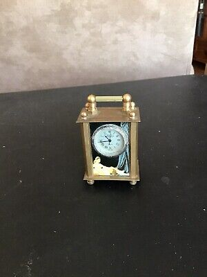 Vintage Miniature Carriage Clock Running