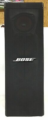 1 Bose Panaray 402 Series II Indoor Outdoor Speaker Black