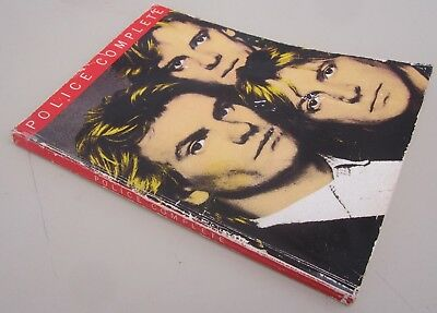 rare THE POLICE COMPLETE PIANO GUITAR SHEET MUSIC SONG BOOK 1982