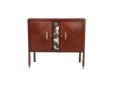 Art Deco Cabinet by Emile Cambier 1930 Vintage Design Meuble Interioriste Deco