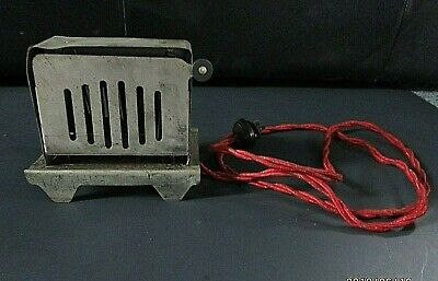 """1920's Antique Child's Electric """"Lady Junior"""" Toaster, Works!"""