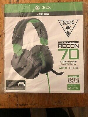 Turtle Beach Ear Force Recon 70 Wired Gaming Headset - Xbox One (Black)