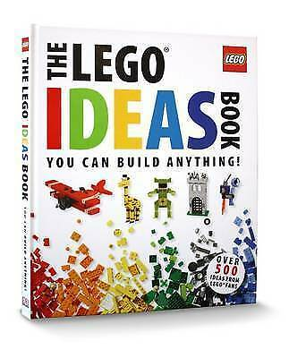 The LEGO Ideas Book: You Can Build Anything! by Daniel Lipkowitz, DK (Hardback,