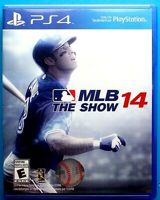 MLB 14, The Show, Major League Baseball, PS4 Playstation 4 FREE 1st CLASS POST A