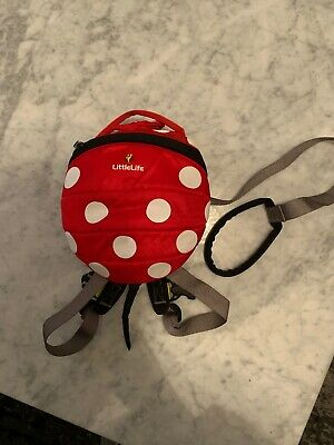 Minnie Mouse Littlelife Bag With Reigns