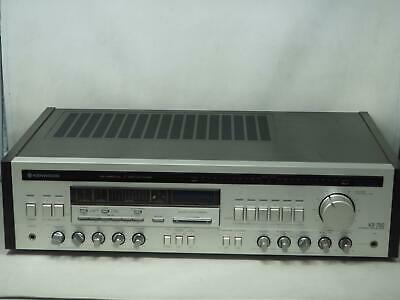 Rare KENWOOD KR-790 Stereo Receiver Has Issues, Please Read! Free Shipping!