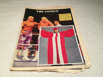 Wwf Wwe Superstars Of Wrestling Sticker Album Series 2 (Missing Outer Cover)