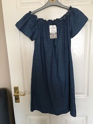 "Bnwt""Primark"" Denim Girls/Woman's Dress-Uk8-Next Day Post-London"