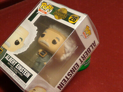funko pop icons World History #26 Albert Einstein in plastic protector