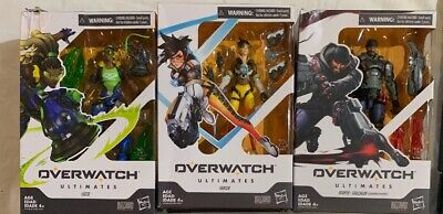 3 Overwatch Ultimates Series Tracer 6-Inch Collectible Action Figure