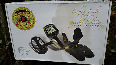 Fisher F75 - Anniversary Special Edition Metal Detector - No Reserve