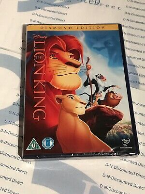 The Lion King (DVD, 2011) Diamond Edition Brand New Sealed