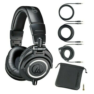 Audio-Technica ATH-M50x Monitor Headphones Black