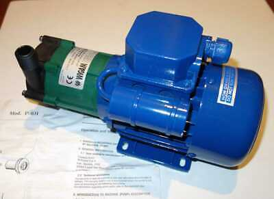 """Wigam Pump P031 115v 50/60Hz 30/80L/min 1/2"""" Inlet/Outlet made in Italy, NOS"""