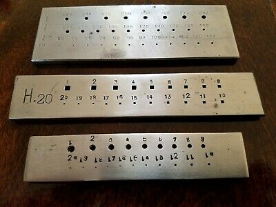 Precision Steel Machinist Hole Guides