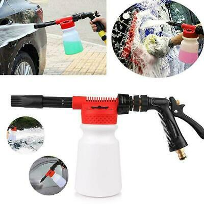 Snow Foam Lance Cannon Washer Gun Soap Pressure Car Jet Wash Foamer Bottle L1U9