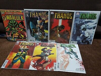 Strange Tales 180 Warlock & Thanos 1-6 1st app Gamora Guardians of the Galaxy