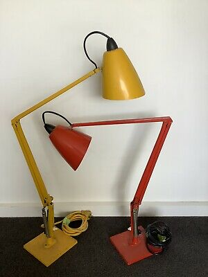 Planet Lamps 1 X Red + 1 X Yellow Working Vintage Retro Pick Up 3141