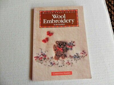 Wool Embroidery for Babies - Soft Cover