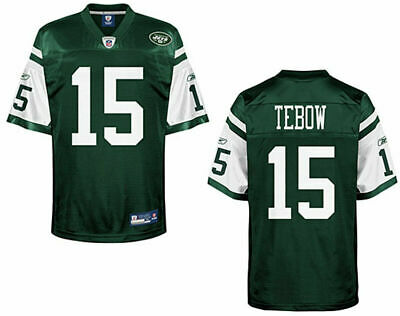 #15 Tim Tebow New York Jets NFL Jersey Mens size Medium 48 Brand New with Tags