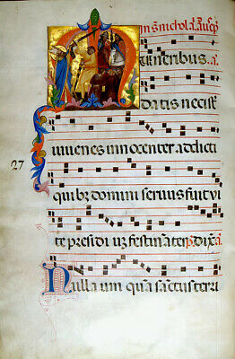 """Antiphonary Collection of 8 Illuminations.FINE ART  QUALITY PRINT 9X13"""". NEW"""