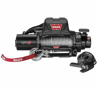 Warn 96800 VR8 Winch with Steel Rope