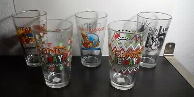 St Arnolds Brewing Company Pint Glass Lot Of 5