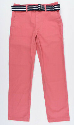 POLO RALPH LAUREN Boys' Kids' Stretch Cotton Chino Pants, Dusty Red, 3 7 8 y.