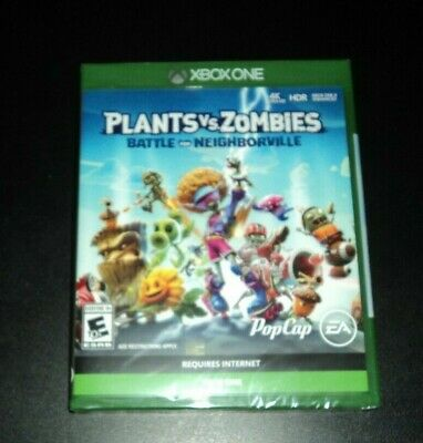 Plants vs. Zombies Battle for Neighborville - XBOX One - BRAND NEW & SEALED!
