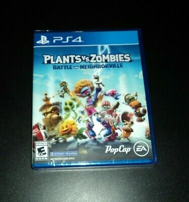 Plants vs. Zombies Battle for Neighborville on PS4 - NEW & SEALED! Playstation 4