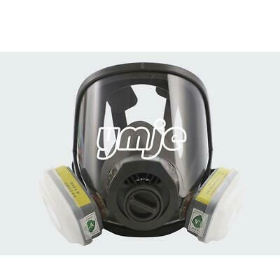 Full Face Gas Mask Respirator Protect Painting Spraying For 6800 Facepiece