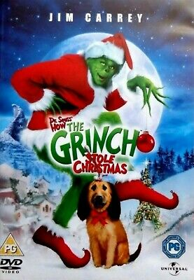 THE GRINCH  * Dr Seuss * HOW THE GRINCH STOLE CHRISTMAS  DVD