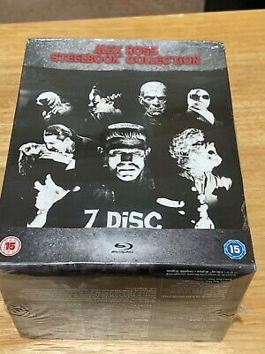 Alex Ross Steelbook Collection Universal Classic Monsters Bluray Uk New & Sealed