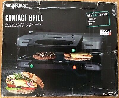 """Contact Grill """" SilverCrest"""""""