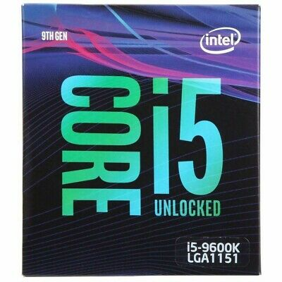 Intel Core i5 9600K 3.7GHz LGA 1151 6 Core will include CM Hyper TX3 EVO CPU Fan
