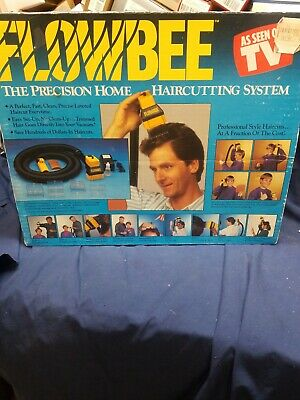 Flowbee Home Haircutting System As seen on TV with attachments manual vacuum