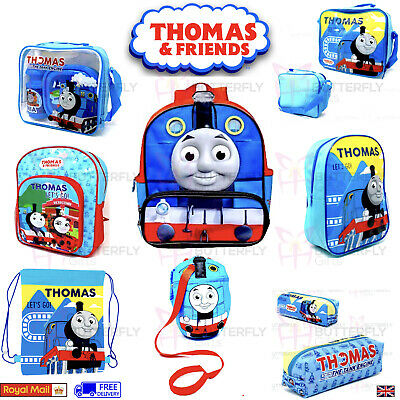 Thomas The Tank Engine Backpack or Lunch Bag Sports Bottle 2 Piece School Set