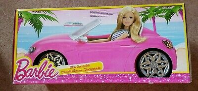 Barbie Pink Glam Convertible Car BRAND NEW (SEE DETAILS)