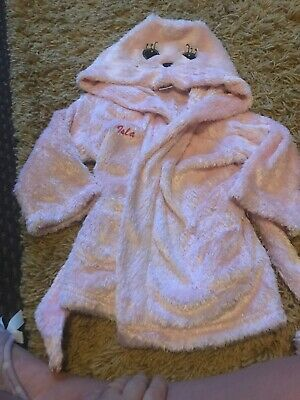 Girls Babies Age 18-24 Months Personalised 'isla' Dressing Gown