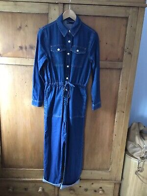 Denim Jumpsuit From Marks And Spencer Size 6