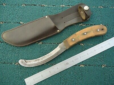Hacking or Pruning Gardening Tool with safety Round End ~ Made in Sheffield