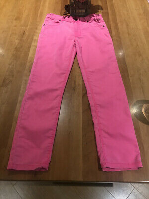Joules Jeans Pink - Zip and Adjustable Waist  age 9/10