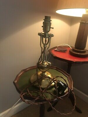 Late 19th Century Brass Gimbal Ships Lamp
