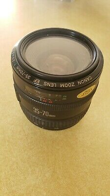 Canon Zoom Lens EF 35-70mm 1:3.5-4.5 A Made In Japan FREE SHIPPING