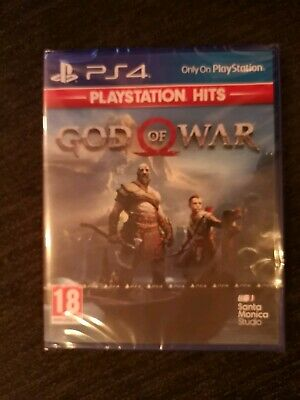 God of War PS4- PlayStation Hits Edition Sealed
