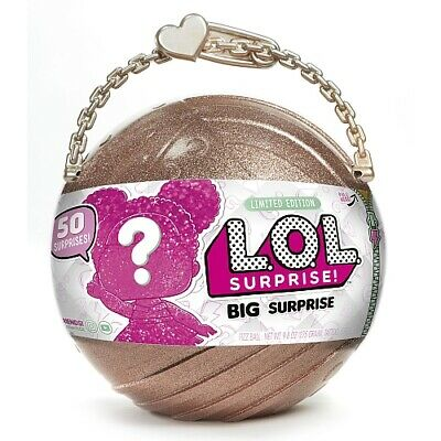 LOL BIG SURPRISE Limited Edition L.O.L. Doll 50 Surprises Gold Ball NEW SEALED